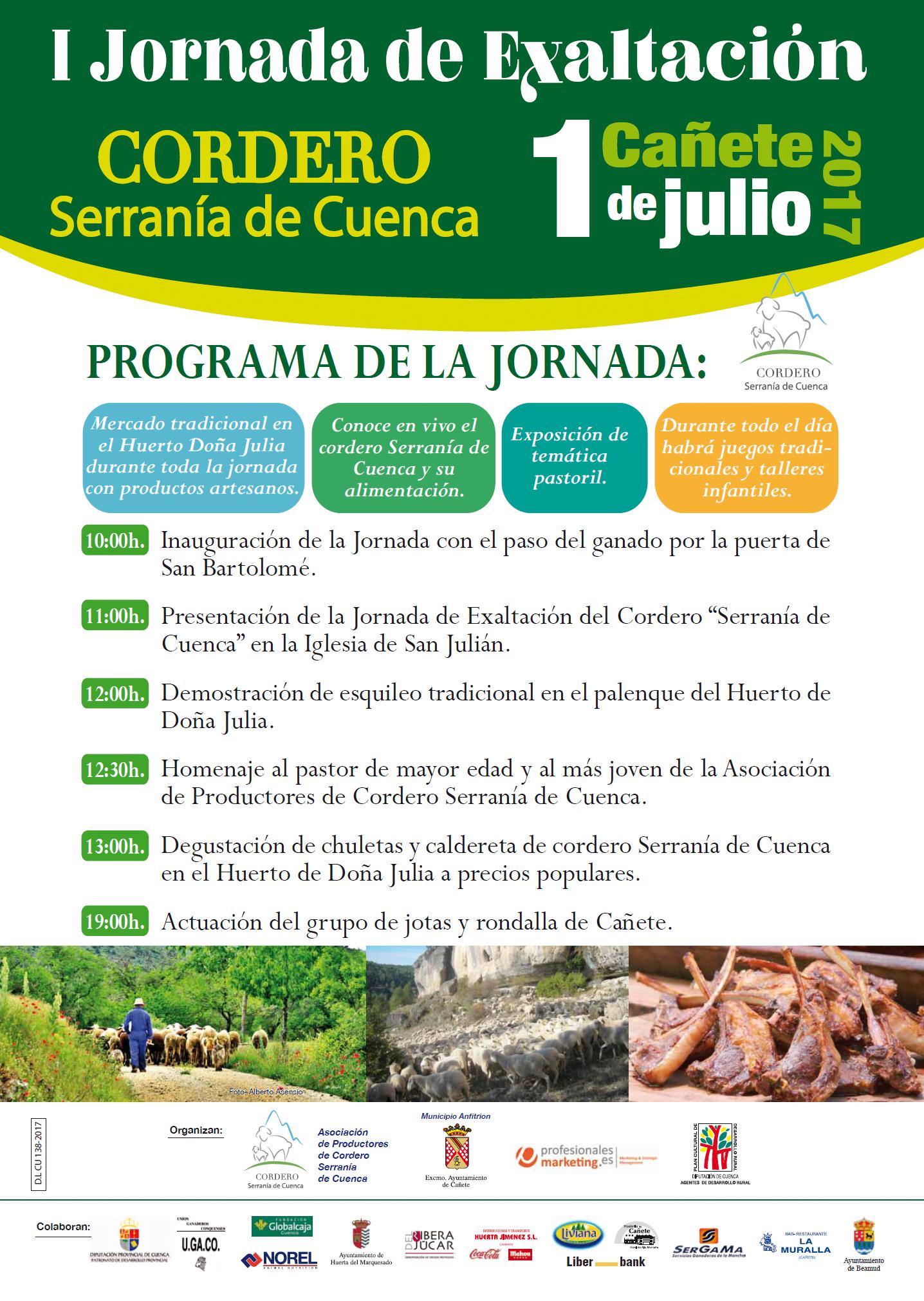 Jornadas Exaltación Cordero Serranía de Cuenca